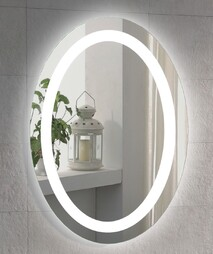 Venezia Oval Mirror  - 900 x 700mm