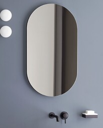 Oval mirror - 900 x 500 x 40mm